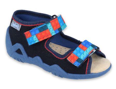 Befado Snake 350P010 sandale za dječake, 19, tamno plave