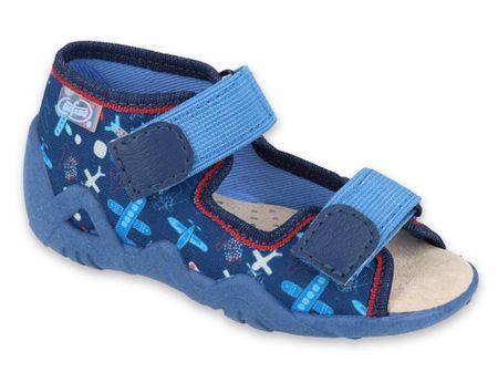 Befado Snake 350P008 sandale za dječake, 18, plave