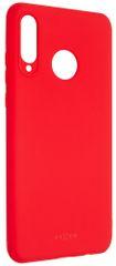 Fixed Zadní pogumovaný kryt Story pro Huawei P30 Lite, červený FIXST-383-R