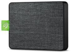 Seagate dysk zewnętrzny Ultra Touch SSD 500 GB, czarny (STJW500401)