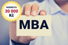 Voucher v hodnotě 30 000 Kč na online MBA studium jen za 9 999 Kč