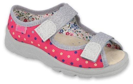Befado 869X138 Max sandale za djevojčice, roza, 26