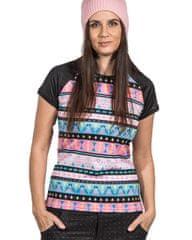 Lasoul Dámské sportovní triko Short Tribal krátký rukáv