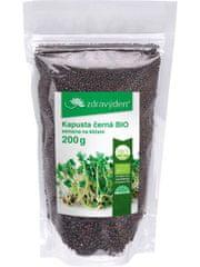 Zdravý den Kapusta černá bio semena na klíčení 200 g