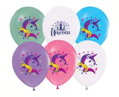 """GoDan Latexové balóny """"Unicorn"""" - 5 ks"""