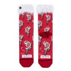 Xpooos Dámské ponožky , Xmas | Červená | UNIVERZÁLNÍ