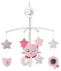 ZOPA vrtiljak za otroško posteljico Owl