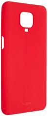 Fixed Zadní pogumovaný kryt Story pro Xiaomi Redmi Note 9 Pro, červený FIXST-531-RD