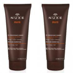 Nuxe Muški gel za tuširanje za tijelo, lice i kosu, 2 x 200 ml