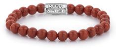 Rebel & Rose Obrúbený náramok Red Coral RR-60039-S