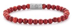 Rebel & Rose Korálkovýnáramok Red Delight RR-60028-S