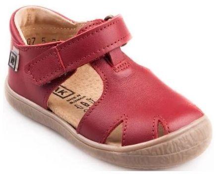 RAK sandały dziewczęce Bambi 0207-5N 23 czerwony