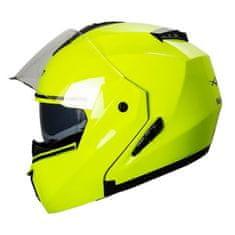 A-Pro Balance preklopna čelada, zelena