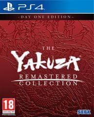 Atlus Yakuza Remastered Collection - Day One Edition igra (PS4)