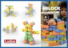 Ludus 8Block - Ludus -80 dílů