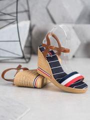 Stylomat Sandálky s barevnými proužky