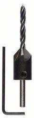 Bosch Spirálové vrtáky do dřeva se záhlubníkem PROFESSIONAL 2608596392
