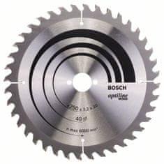 Bosch Pilový kotouč Optiline Wood 2608640728