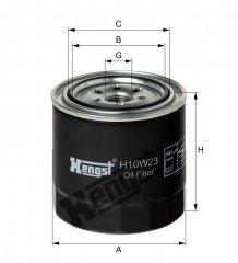 Hengst Filter Olejovy filtr H10W23