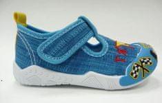 V+J chlapecká obuv 130-0055-T1 blue