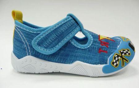 V+J buty chłopięce 130-0055-T1 19 niebieski