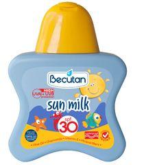 Becutan mleko za sončenje SPF 30, 175 ml