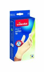 Vileda MultiLatex rokavice za enkratno uporabo, 10/1 M/L