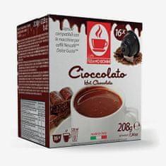 Tiziano Bonini Chocolate kapsule za kavni aparat Dolce Gusto, 16 kosov