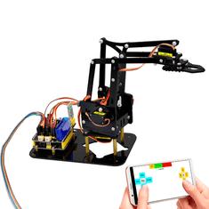 Keyestudio Arduino 4DOF robotická paže DIY