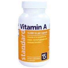 Betakaroten Vitamín A 25 000 IU, 60 kapslí