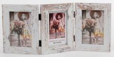 FANDY Dřevěný rámeček Narvik 10x15/3 1 melír