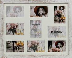 FANDY Dřevěný rámeček Narvik gallery na více foto 04 1 melír