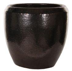 Shishi Doniczka ceramiczna złota 30 x 28 cm