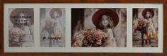 FANDY Dřevěný rámeček Style gallery na více foto 03 2 hnědý