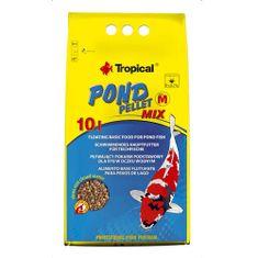 TROPICAL Pond Pellet Mix M 5l/550g plávajúce krmivo pre jazierkové ryby