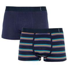 Molvy 2PACK Pánské boxerky vícebarevné (KP-066-BEU)