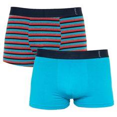 Molvy 2PACK Pánské boxerky vícebarevné (KP-071-BEU)