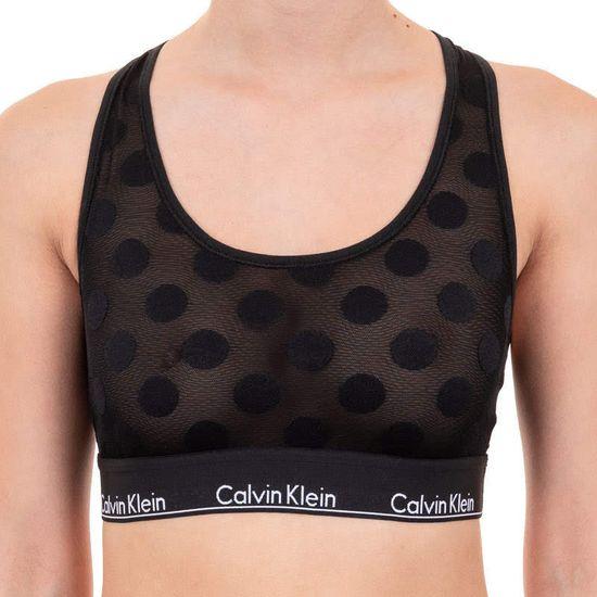 Calvin Klein Dámska podprsenka čierná (QF5847E-6WA) - veľkosť M