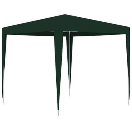 slomart Profesionalen vrtni šotor 2,5x2,5 m zelen 90 g/m²