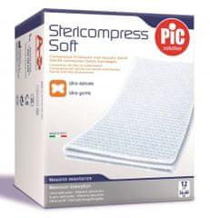 PIC Stericompress Soft sterilna gaza, 12 kosov, 7,5 x 7,5 cm
