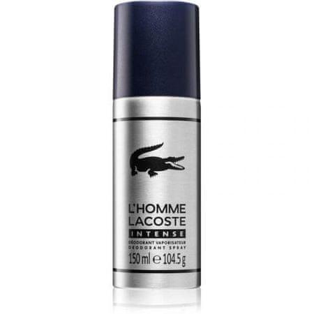 Lacoste L`Homme Lacoste Intense dezodorans, sprej, 150 ml