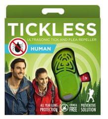 Tickless Human ultrazvočni odganjalec klopov, zelen