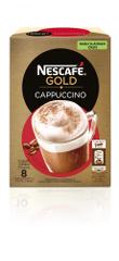 NESCAFÉ Cappuccino, manj sladkan okus, 125 g