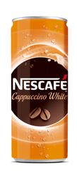 NESCAFÉ Cappuccino White instant kava, pločevinka, 250 ml