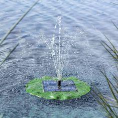 HI Solární plovoucí fontánové čerpadlo lotosový list