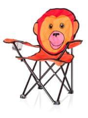 Happy Green Otroški zložljivi stol Opica