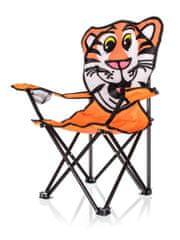 Happy Green Otroški zložljivi stol Tiger