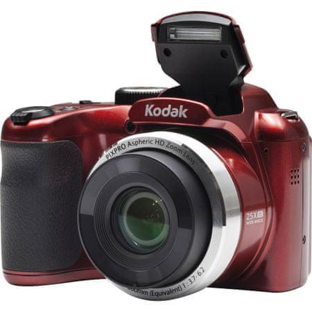 Kodak AZ252 digitalni fotoaparat, crveni