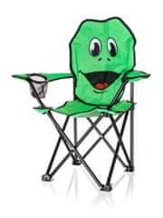 Happy Green Otroški zložljivi stol Žaba