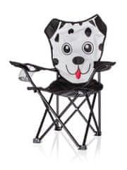 Happy Green Otroški zložljivi stol Pes